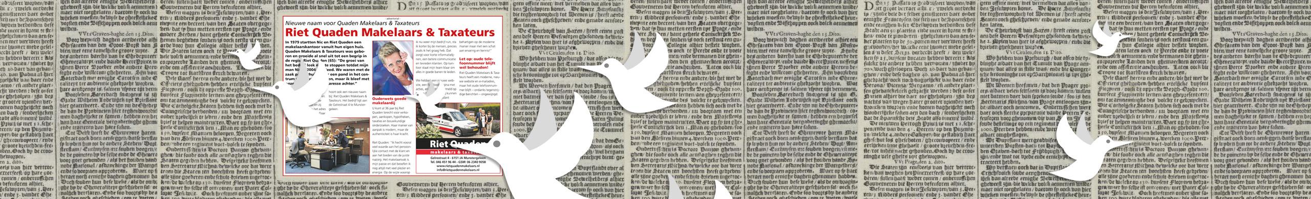 krantenartikel schrijven