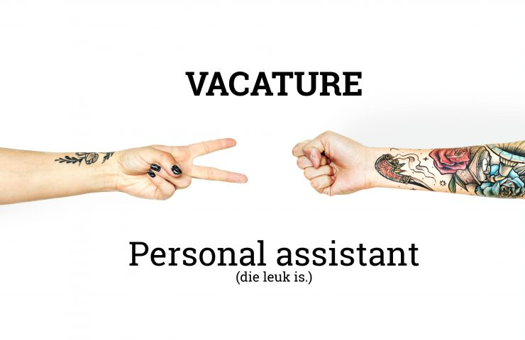 VACATURE: Personal assistant